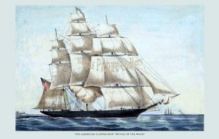 Clipper Ship - With of the Wave